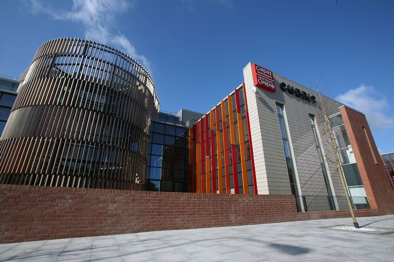 CUBRIC, Cardiff University, makes use of SuDS to store and re-use rain water throughout the building