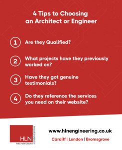 4 tips for choosing an architect and engineer